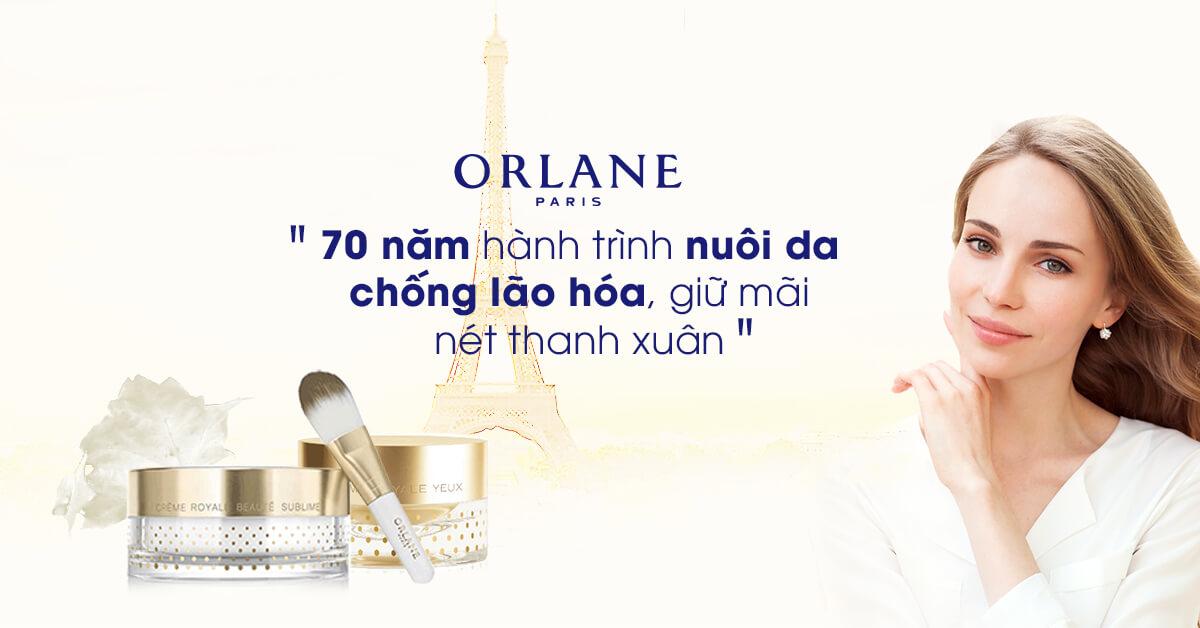 Orlane Paris – Giải pháp hoàn hảo cho mọi hư tổn về da
