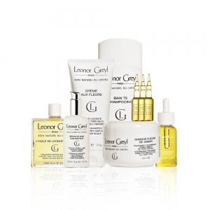 Bộ sản phẩm dành cho da đầu hỗn hợp, thân tóc dày Leonor Greyl