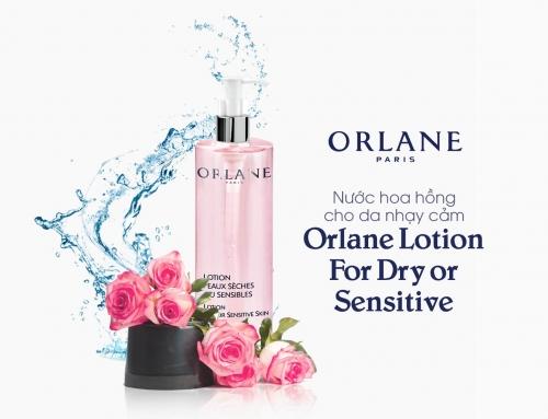 Nước hoa hồng cho da nhạy cảm Orlane Lotion For Dry or Sensitive