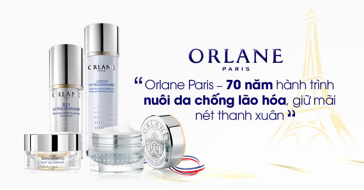 Orlane - Giải quyết triệt để nám, mụn, nhăn, sệ, khô, nhờn...